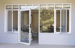 Aluminium Door by Vir Krupa Engineers