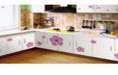 Designer L Shape Modular Kitchen by K R Engineering