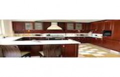 G Shaped Modular Kitchen by Kitchen Deck Dot In