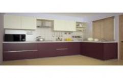 L Shape Modular Kitchen by Kailash Modular System