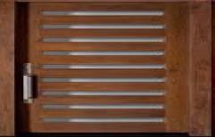 Solid Wooden Main Door by Black & White Doors Interiors & Modular Furniture