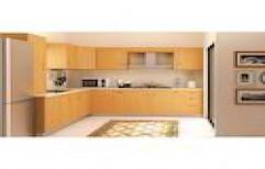Wooden Modular Kitchen by FALCON Glass & Hardwares