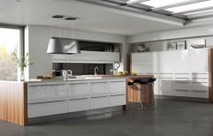 Acrylic Modular Kitchen by Raaghavi Associates
