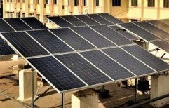 Solar PV Panel Mounting Structure RCC Flat