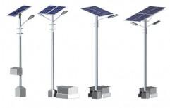 Solar Street Light Poles by Amkay Engineering
