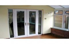 UPVC Modern Door   by Sun Glass & Fabrications