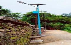 9w Solar LED Street Light System by R V Solar Solutions
