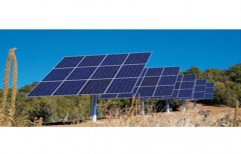 Elevated Module Solar Panel Structure  by Createch Fab & Automation