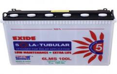 Exide Solar Tubular Battery  by Y K Power Solution