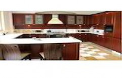 G Shaped Modular Kitchen by Best Arc Solutions