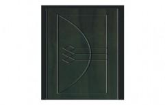 Dark Green PVC Membrane Door
