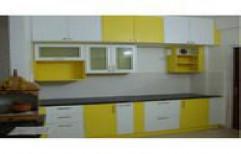 Artificial Marble MDF (Medium-Density Fibreboard) Modular Kitchen
