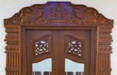 Carved Wooden Doors by Sri Lakshmi Venkateshwara Wood Working