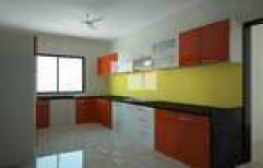 Hi Gloss Acrylic Modular Kitchen by Zion International