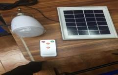 Solar LED 5 Watt Bulb With Battery  by Tantra International
