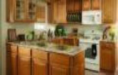 U Shaped Modular Kitchen by Chetan Interiors