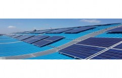 Aluminium Rooftop Solar Panel by Gobind Power Solar