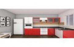 Designer Modular Kitchen by Vishwakarma Wood Works