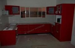 High Gloss Modular Kitchen by Trendz Interiorz