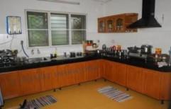 L Type Modular Kitchen by Trendz Interiorz