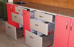 Modular Kitchen Trolley by Shubham Furniture & Aluminium