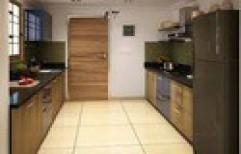Parallel Modular Kitchen by Cordial Associates