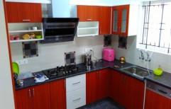 Residential Modular Kitchen by Green White Interiors