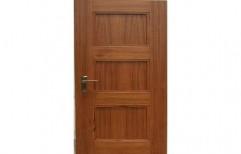 Teak Ply Solid Door    by Woodtech Manufacturers