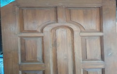 Teak Wooden Doors by Balaji Enterprises