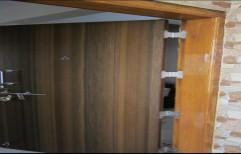 Wooden Main Door by Shubham Furniture & Aluminium