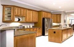 Wooden Modular Kitchen by Megha Marketing