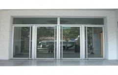 Aluminium Thick Glass Door   by J. B. N. Glass & Aluminium