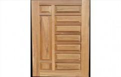 Coated Wooden Door by Krishna Decorative Company