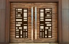 Decorative Wooden Door by Vignesh Furniture