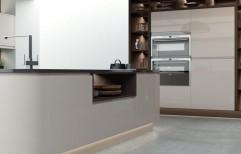 Glass Island Modular Kitchen by Raaghavi Associates