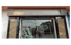 Office Front Aluminium Glass Door   by J. B. N. Glass & Aluminium