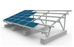 Solar Panel Structure by Vedansh Infraenergy Private Limited
