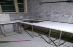 Stainless Steel pre fab Modular Kitchen by Gayatri Kitchen & Interior
