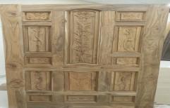 Teak Carving Doors