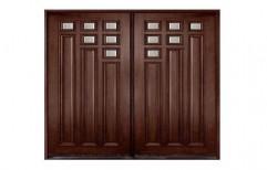 Wooden Main Door by S K Timber