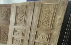Designer Wooden Door by Shiv Shakti Timber