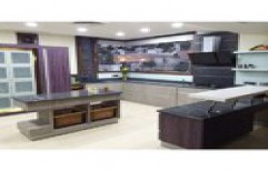 Fancy Modular Kitchen by Security Automation
