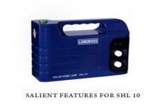 Solar Home Lamp - SHL10  by New Era Solar