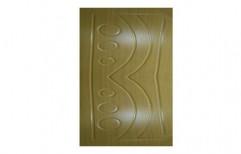 Brown Standard Wooden Door