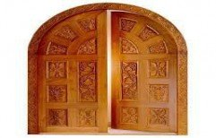 Mayur  Wooden Doors with Custom Design by Jeo- Engineering Company