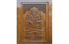 Carved Wood Doors by M/S Bajrang Timber Trading Co.