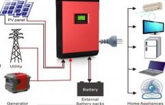 Hybrid Solar Inverter    by S. S. Solar Energy