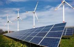 Hybrid Solar Power Plant    by Solax Renergy LLP