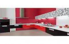L Shape Modern Kitchen      by ZA Construction's
