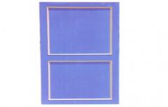 PVC Solid Panel Blue Doors        by Royal Enterprises